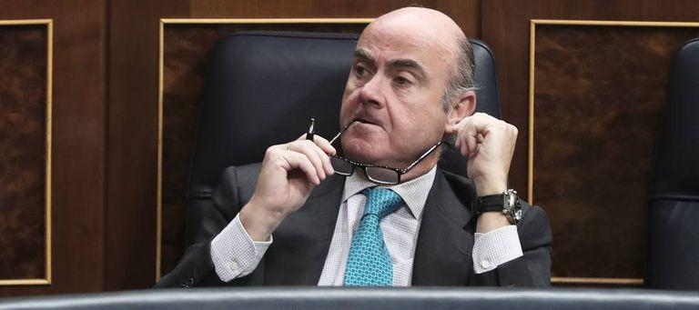 Spanish Economy Minister Luis de Guindos.